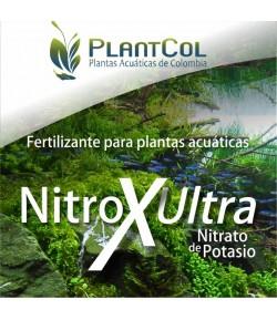 Nitrox Ultra Nitrato de Potasio Nitrógeno fertilizante para plantas de acuario