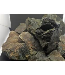 6 Rocas Grises Paisajismo Aquascape Aquascaping neutras Aprox. 3 Kg