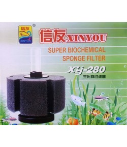 Filtro Esponja / Espuma XY-280 hasta 150 litros