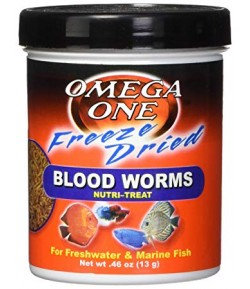 13g Blood Worms Gusanos Sangre Alimento Peces Acuario