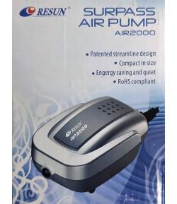 2.3l/min Motor Aireador Aire 1 Salida Air2000 Acuario