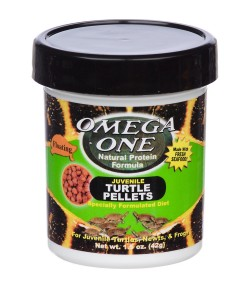 42g Turtle Pellets Alimento Para Tortugas Omega