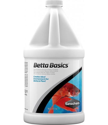 2 Litros Betta Basics Seachem Acondicionador Bettas Anticloro