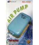 3.0 L/h Motor Aireador Oxigenador Resun Ac-1500 Acuario 2 Salidas