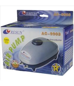 4.5 L/min. Aireador Oxigenador Motor Resun Ac9903 Acuario