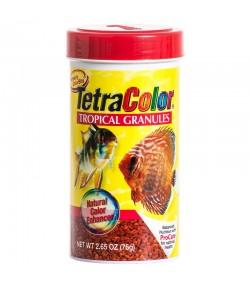 75g Tetra Color alimento granulado peces acuario