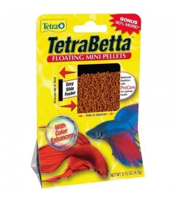 4.5g Tetra Min mini pellets alimento peces Betta acuario