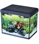 30 litros Acuario completo con iluminación y filtro Resun Ice Cube LT-30