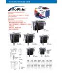 1020 litros/hora Filtro de cascada Dophin H800