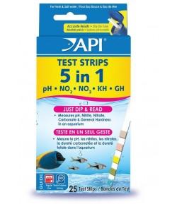 Test 5 en 1 Tiras medidoras de Api  (Test Strips)