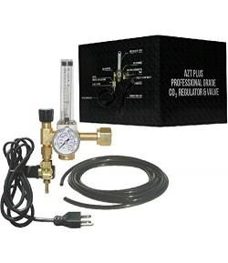 Sistema Co2 Profesional Regulador AZT Plus con Solenoide+Difusor+Cilindro 20 Libras