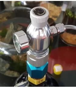 Sistema Co2 profesional +cuentaburbujas+Difusor+Válvula Antiretorno